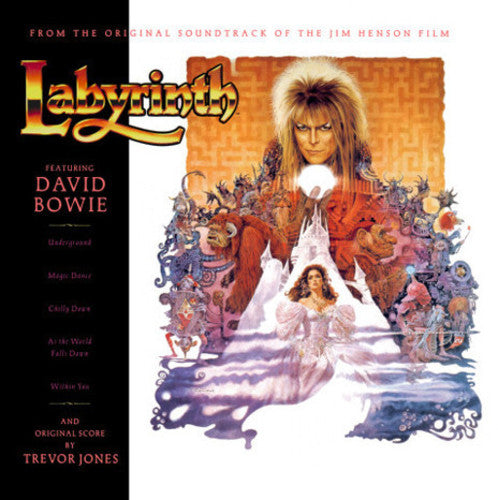 Labyrinth - Original Motion Picture Soundtrack  (New Vinyl LP)