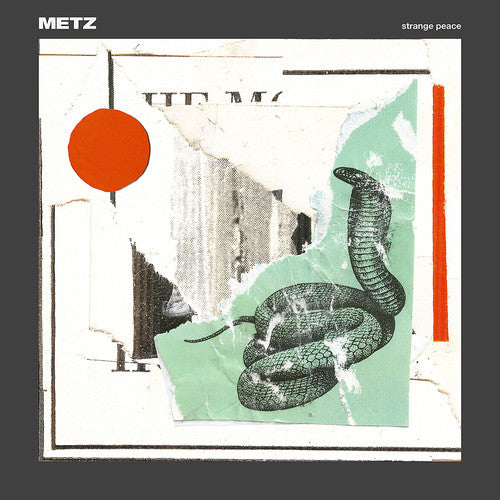 Metz - Strange Peace  (New CD)