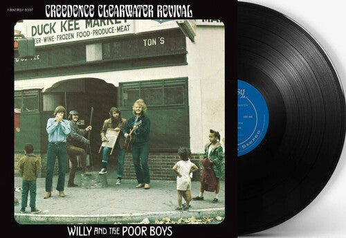Creedence Clearwater Revival - Willy & the Poor Boys  (New Vinyl LP)