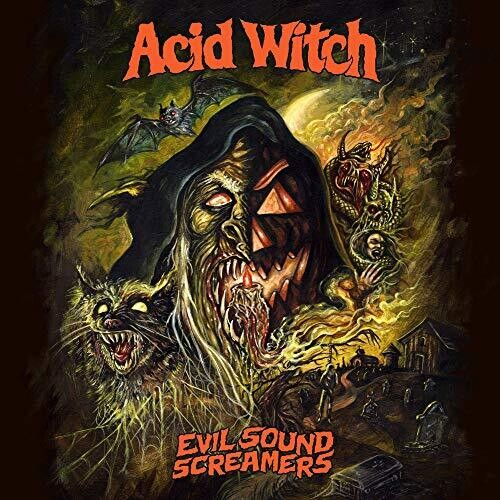 Acid Witch - Evil Sound Screamers  (New Vinyl LP)