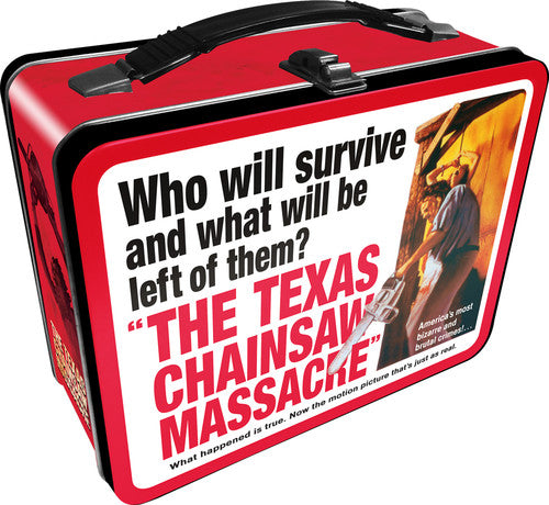 Texas Chainsaw Massacre Lunchbox - Tin Tote