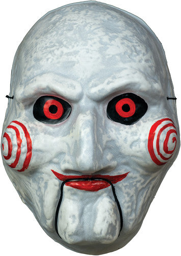Saw Billy Puppet Vacuform Mask - Halloween Mask [Trick or Treat Studios]