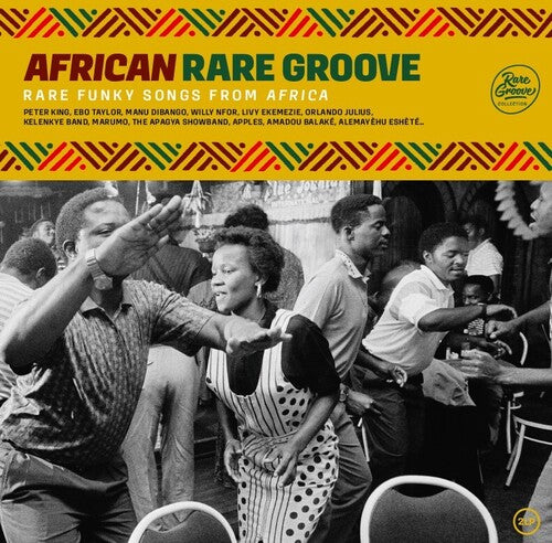 Various Artists - African Rare Groove: Rare Funky Songs From Africa  (New Vinyl LP)