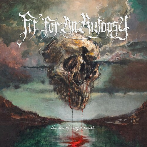 Fit For an Autopsy - The Sea of Tragic Beasts [Blue w/ Black Swirl Vinyl]  (New Vinyl LP)