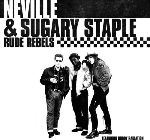 Neville & Sugary Staple - Rude Rebels [Spletter Vinyl]  (New Vinyl LP)