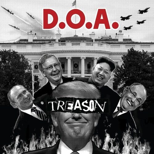 D.O.A. - Treason  (New Vinyl LP)