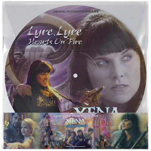 Xena: Warrior Princess: Lyre, Lyre, Hearts on Fire - Original Television Soundtrack [Picture Disc] (New Vinyl LP)