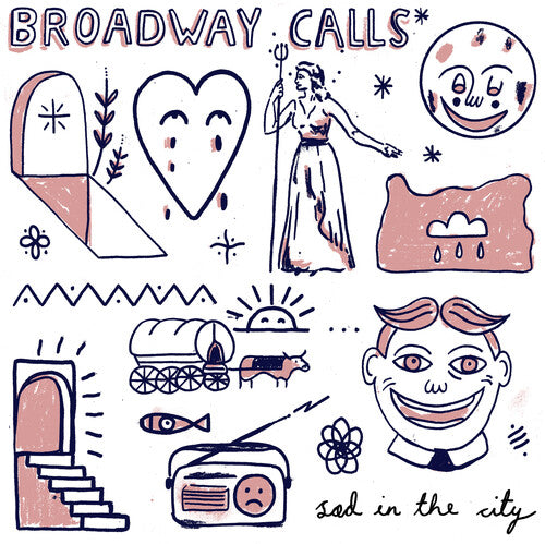 Broadway Calls ‎- Sad In The City  (New Vinyl LP)