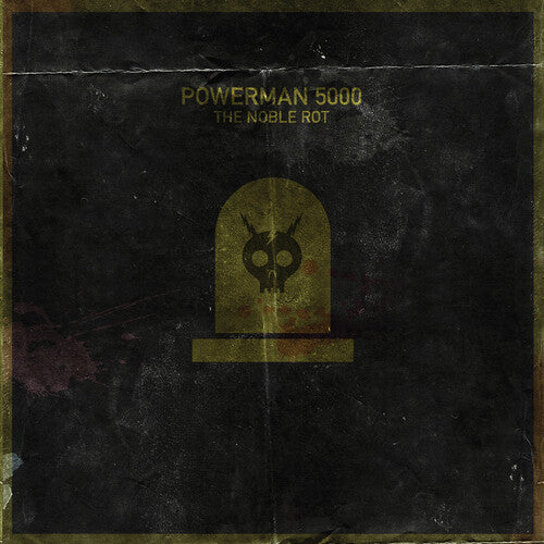 Powerman 5000 - The Noble Rot [Coke Bottle Green Vinyl]  (New Vinyl LP)