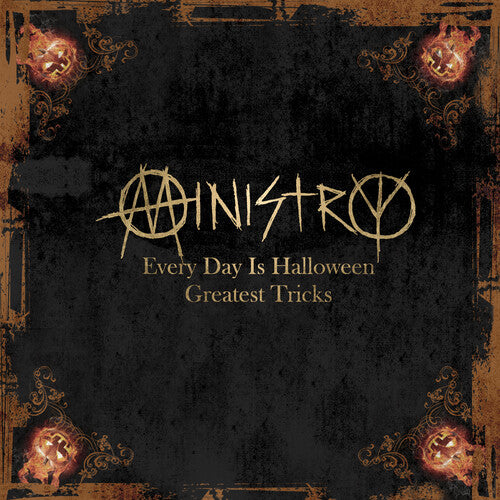 Ministry - Every Day Is Halloween: Greatest Tricks {Gold Vinyl  (New Vinyl LP)