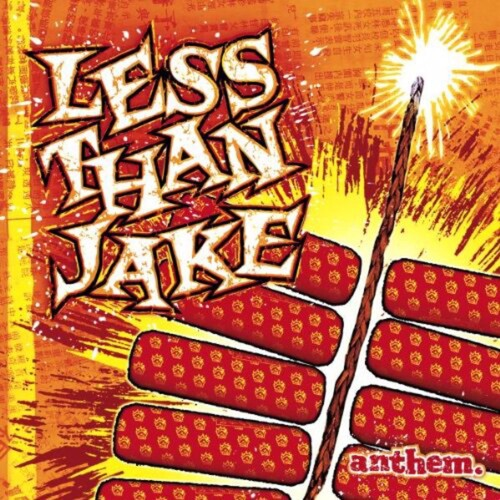 Less than Jake - Anthem [Yellow, Red Vinyl]  (New Vinyl LP)