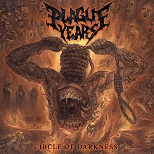 Plague Years - Circle Of Darkness [Red & Orange Vinyl]  (New Vinyl LP)