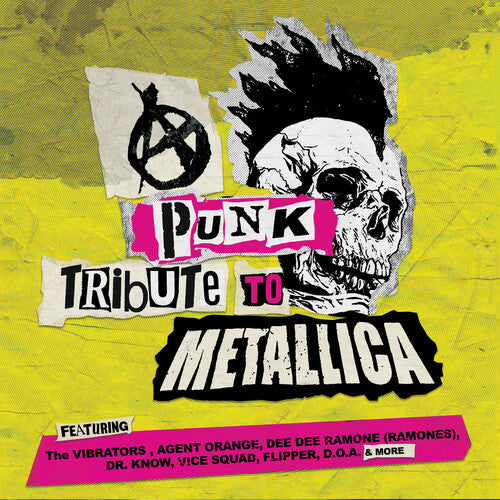Various Artists - Punk Tribute To Metallica [Yellow Vinyl]  (New Vinyl LP)