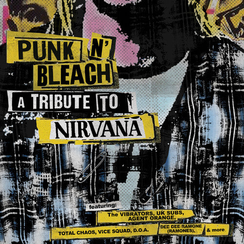 Various Artists - Punk N' Bleach - A Punk Tribute To Nirvana [Yellow Vinyl]  (New Vinyl LP)