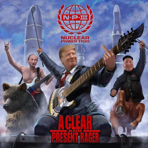 Nuclear Power Trio - Clear And Present Danger  (New CD)