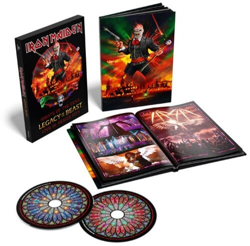 Iron Maiden - Night Of The Dead, Legacy Of The Beast: Live In Mexico City DELUXE  (New CD)