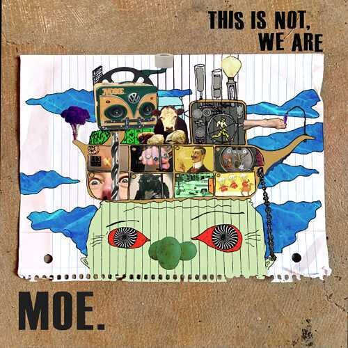 Moe - This Is Not, We Are [Blue Galaxy Vinyl]  (New Vinyl LP)