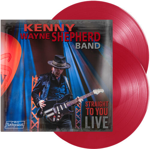 Kenny Wayne Shepherd - Straight To You: Live [Red Vinyl]  (New Vinyl LP)