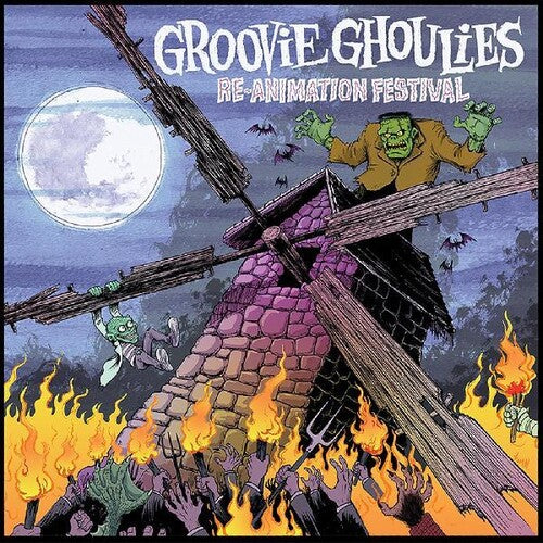 Groovie Ghoulies - Re-animation Festival [Moonlight White Vinyl]  (New Vinyl LP)