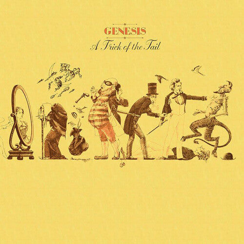Genesis - A Trick Of The Tail [Yellow Vinyl]  (New Vinyl LP)