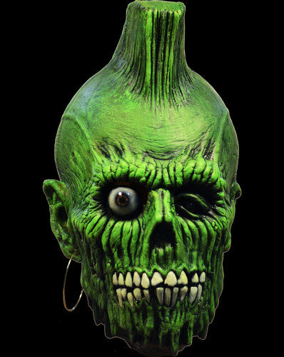 Return Of The Living Dead Mohawk Zombie Mask - Halloween Mask [Trick or Treat Studios]