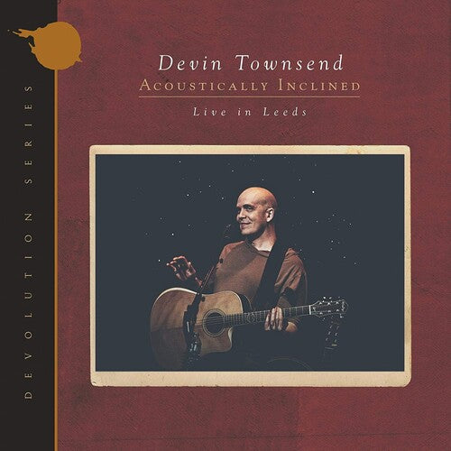 Devin Townsend - Devolution Series #1 - Acoustically Inclined, Live In Leeds  (New CD)