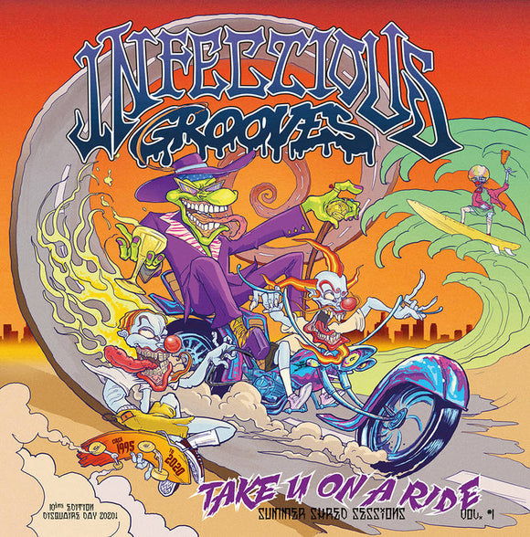 Infectious Grooves - Take You On A Ride [transparent orange vinyl]  (New Vinyl LP)