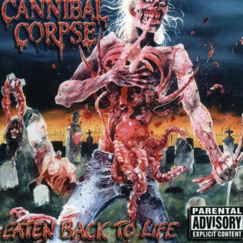 Cannibal Corpse - Eaten Back to Life  (New CD)