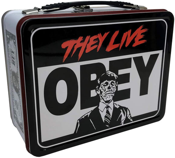 They Live Lunchbox - Tin Tote