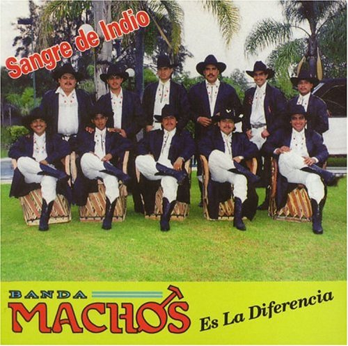 Banda Machos ‎ Sangre de Indio  (Used CD)