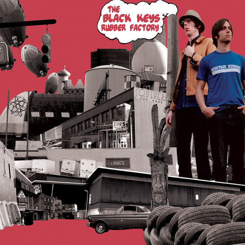 The Black Keys - Rubber Factory  (New Vinyl LP)