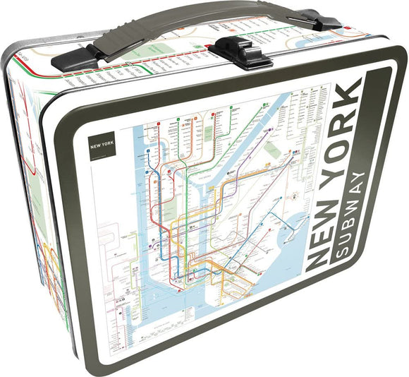 New York Subway Lunchbox - Tin Tote