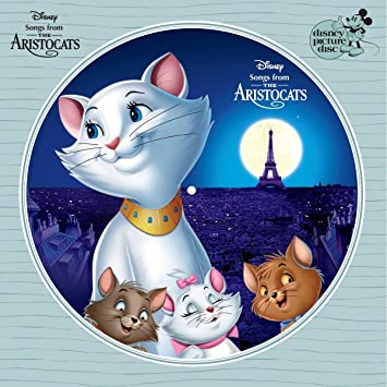 The Aristocats - Songs From the Motion Picture [Picture Disc]  (New Vinyl LP)