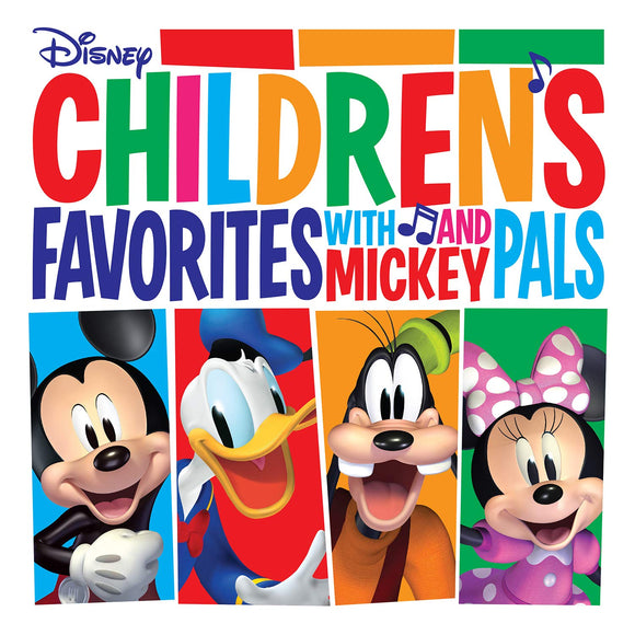 Various Cartoon Artists - Children's Favorites With Mickey And Pals  (New Vinyl LP)