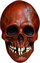 Nightowl Skull - Blood Red Mask - Halloween Mask [Trick or Treat Studios]