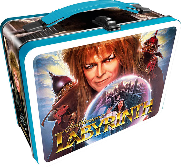 Labyrinth - David Bowie/Jareth Lunchbox - Tin Tote