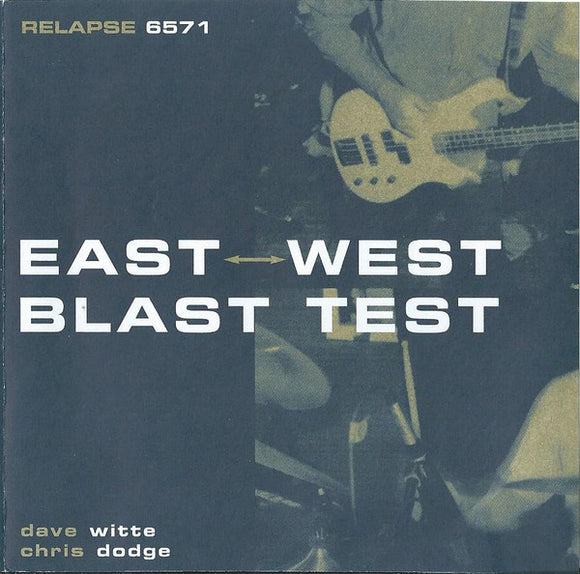East West Blast Test - East West Blast Test  (Used CD)