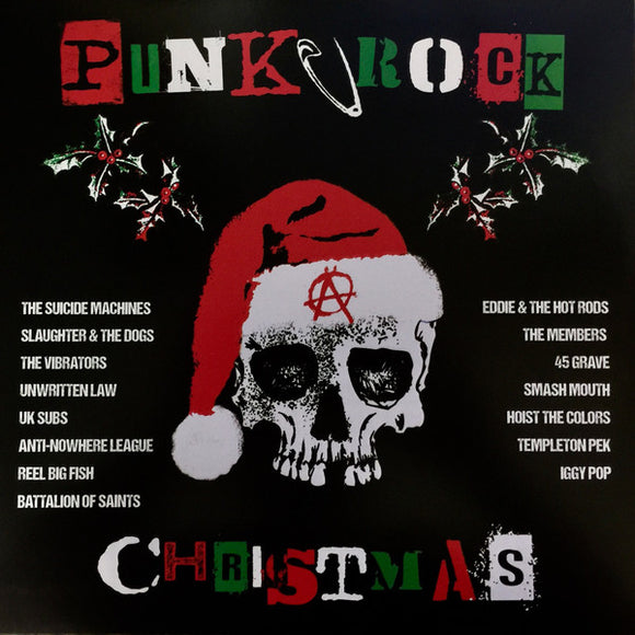 Various Artists ‎- Punk Rock Christmas [Red Vinyl]  (New Vinyl LP)