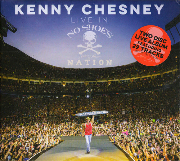 Kenny Chesney - Live in No Shoes Nation  (New CD)