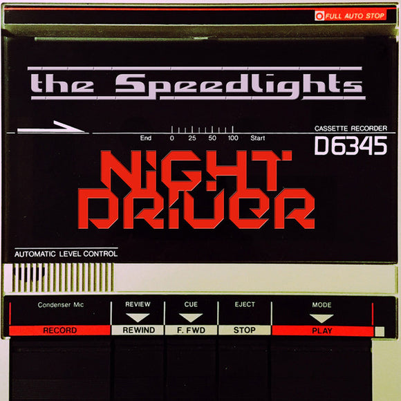 The Speedlights - Night Driver  (New CD)