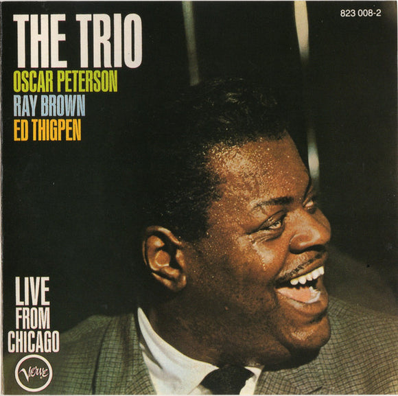 Oscar Peterson - The Trio : Live From Chicago  (Used CD)