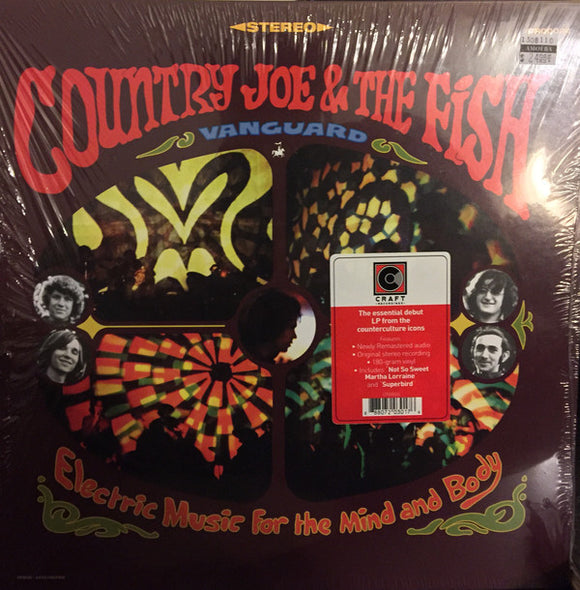 Country Joe & the Fish - Electric Music for the Mind and  (New LP)
