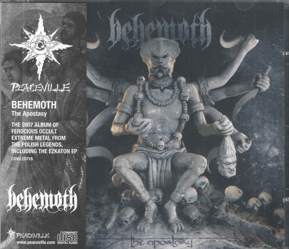 Behemoth - The Apostasy  (New CD)