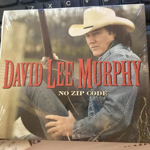 David Lee Murphy - No Zip Code   (New CD)