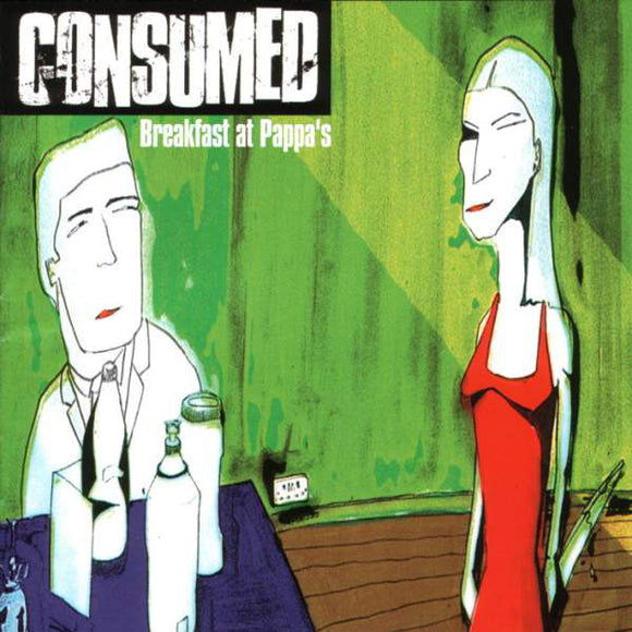 Consumed - Breakfast At Pappa's  (Used CD)
