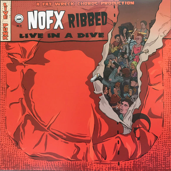 NOFX - Ribbed Live In a Dive  (Used LP)