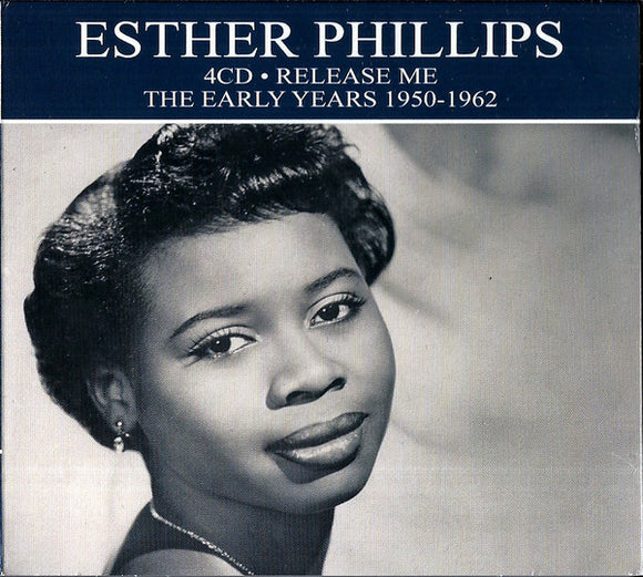 Esther Phillips ‎– Release Me - The Early Years 1950-1962  (Used CD)