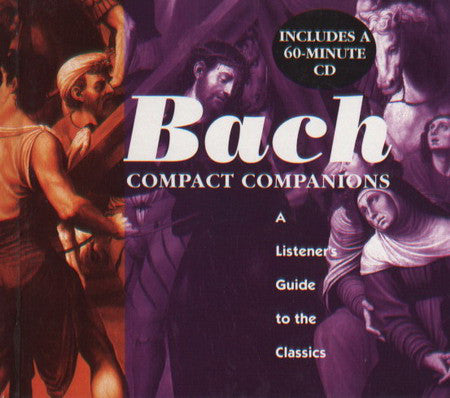 Bach - Compact Companion  (Mini Book with CD)  (Used CD)