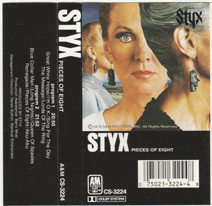 Styx - Pieces of Eight  (Cassette)