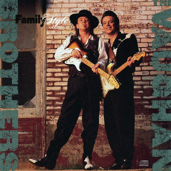 The Vaughan Brothers - Family Style  (Used CD)